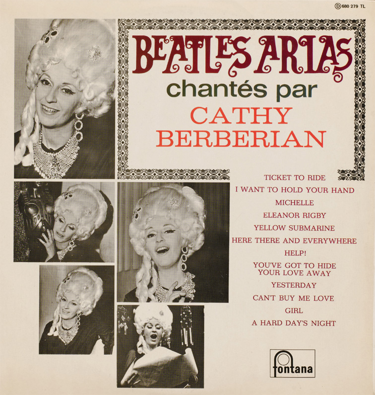 Beatles Arias LP - French cover